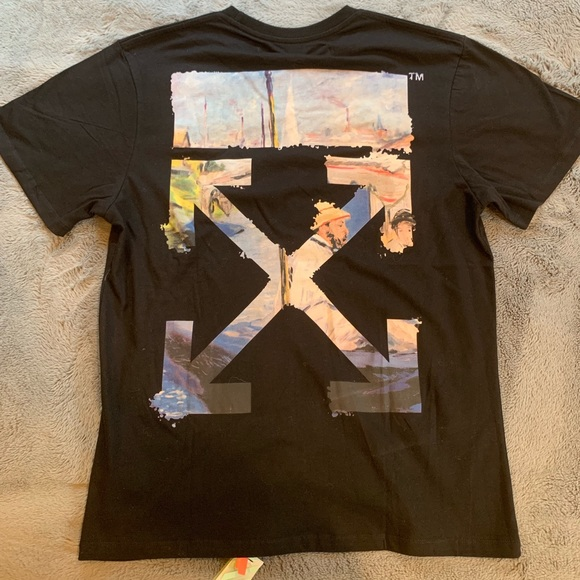 Off White T Shirt Ss19 Colored Arrows Size L Nwt